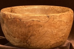"""Spalted Maple Bowl"""